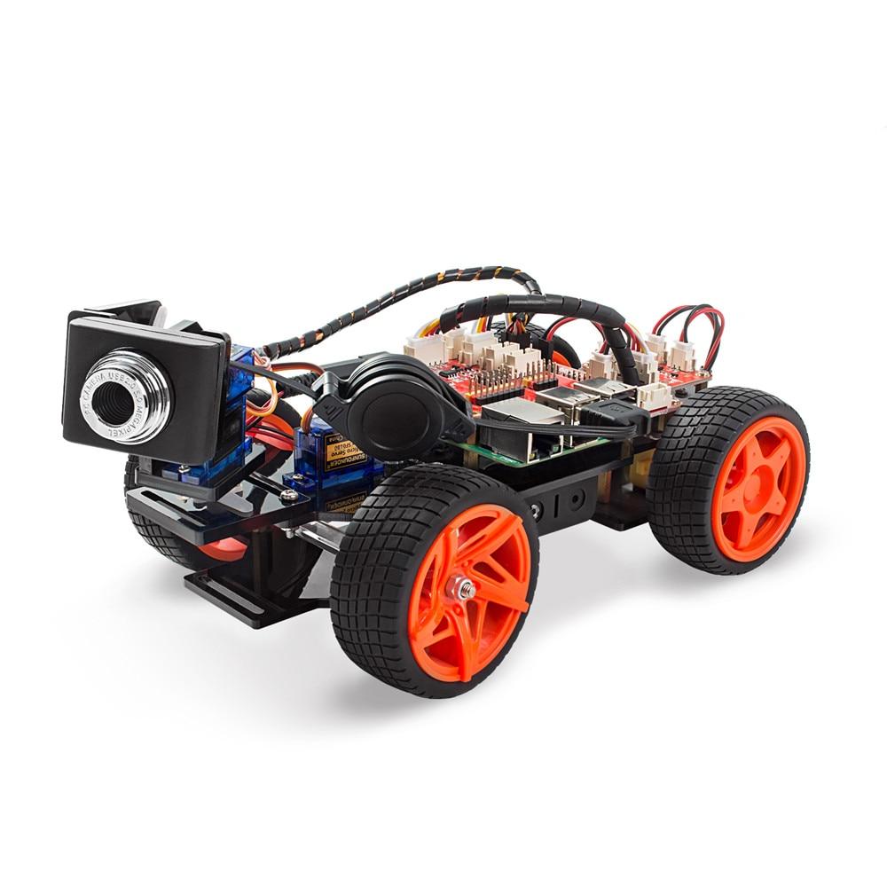 Raspberry Pi Smart Video Car Kit V2 (9)