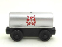 RARE NEW Thomas And Friends Wooden Magnetic Railway Model Train Engine Track Boy / Kids Toy SILVER TRUCK(China)