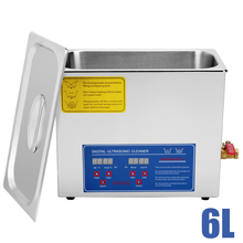 6L QT 380W DIGITAL HEATED INDUSTRIAL ULTRASONIC PARTS CLEANER(China)