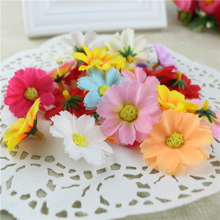 50PCS Artier Hot DIY Flower Floral Chrysanthemum Flower Dance Flower SunFlower Bag A004(China (Mainland))