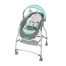 2 in 1 Super multifunctional baby bouncer music moving baby cradle & high views stroller baby rocking chair crib with MP3(China)