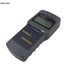 Kebidu Wireless Network Tester Portable SC8108 LCD Multifunction Meter LAN Phone Cable Tester With LCD Display RJ45(China)