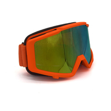 Orange Goggles Dirt Bike Motocross Goggles Comfortable Motorcycle Helmet Racing Glasses Off Road ATV MX Goggle
