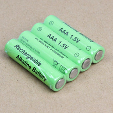 8 pcs / lot AAA rechargeable battery 1.5V 10440 AAA alkaline rechargeable battery for Remote Control Toy cameras free shipping