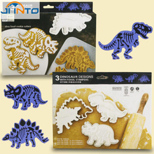 6pcs/set dinosaur cookies cutter biscuit mould set baking tools cutter tools cake decoration bakeware mold