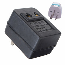 Newest Hot US Japan Canada Brazil AC 220V to 110V AC Power Voltage Converter 15W Adapter Travel Transformer Promotion