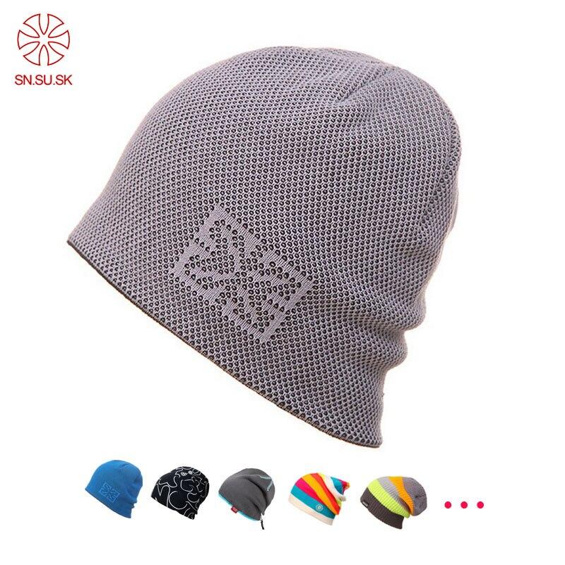 BEANIE SKULL CAP WITH VISOR PUNK SKI SKATE WINTER NEW hat Black