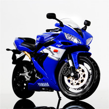 Maisto 1/12 YAMAHA YZF-R1 Diecast STREET GLIDE MOTORCYCLE 1/12 Motorcycle Vehicles Model Blue Color Kids Gift Collection(China)
