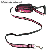 New Design Dog Leashes With A Snack Bag Pet Leashes Outdoor Walking Dogs Rope Two Size For Small Medium Large Dog(China)