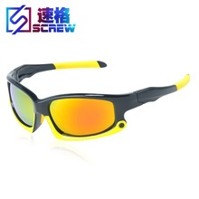 High quality  Colorful Polarized   Sunglasses For Men Women   PC  lens uv400 protection Prevent glare Sun Glasses