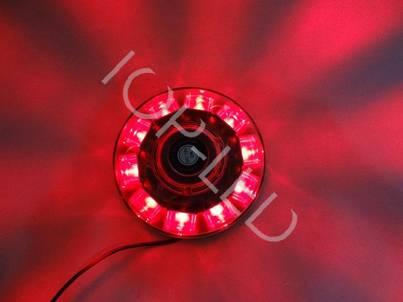 CYAN SOIL BAY 12V 30W 10 LED High Power Warning Emergency Roof Beacon Flash Strobe Light Red<br>