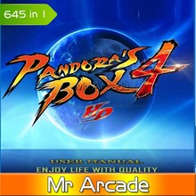 pandora box 4 New Arrival 645 in 1  game box multi game board Upgraded Version CGA & VGA output