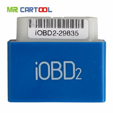 2016 Newest arrival Xtool IOBD2 Bluetooth Android System Diagnostic tool Support vehicles with OBD II/EOBD protocol Code Reader
