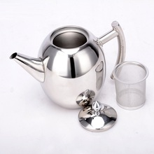 Hotel Restaurant Kitchen Dining Bar Coffee Tea Tool 1.5 L Stainless Steel Percolators Coffee Tea Pot Kettle 4 PCS 1 Lot
