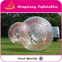Free Shipping  Zorb Ball,Inflatable Games Dia 2.5m Grass Zorb Ball ,Inflatable Body Zorb Ball