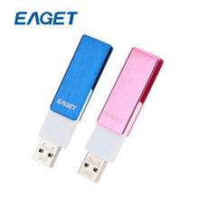 US STOCK EAGET F50 64GB 16GB USB 3.0 Flash Drive USB Stick 64 GB Pen Drive Pendrives Waterproof Rotation Metal Pen drive USB Key