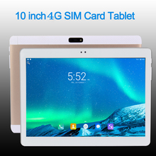 2017 Original Pad Pc 3G 4G LTE 10 inch tablet PC 4 Core Android 6.0 tablet Pc Phone call Dual SIM card IPS FM tablets pc