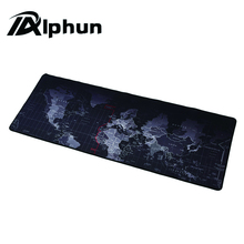 Alphun High Quality Large Gaming Mouse Pad Mousepad Locking Edge For Laptop PC Anime Mousepad dota2 Mat for CF Dota2 LOL CS FPS