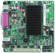MINI_ITX industrial embedded motherboard Itx_H25_28 support Intel Atom N2800/1.86GHz dual core CPU with 8*USB/6*COM/1*VGA