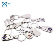 Car Accessories Key Chain Ring For Jeep KIA Lexus Mazda MINI Cooper Nissan Peugeot Logo Metal KeyChain Badge Key Ring Emblem(China)