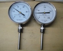 "bi-metallic Thermometer Temperature gauge 0-50~500 degrees L=100, 1/2""BSP WSS413(China)"