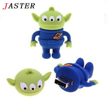 JASTER cartoon funny toy story Aliens USB Flash Drives thumb pendrive memory stick u disk pen drive 4GB 8GB 16GB Free shipping