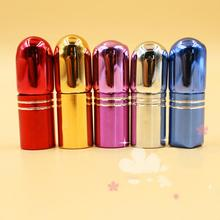 1Pc 2ML Glass Roller Bottle Body Fragrance Travel Perfume Makeup Tools Fashion Women Cosmetic Accessories(China)