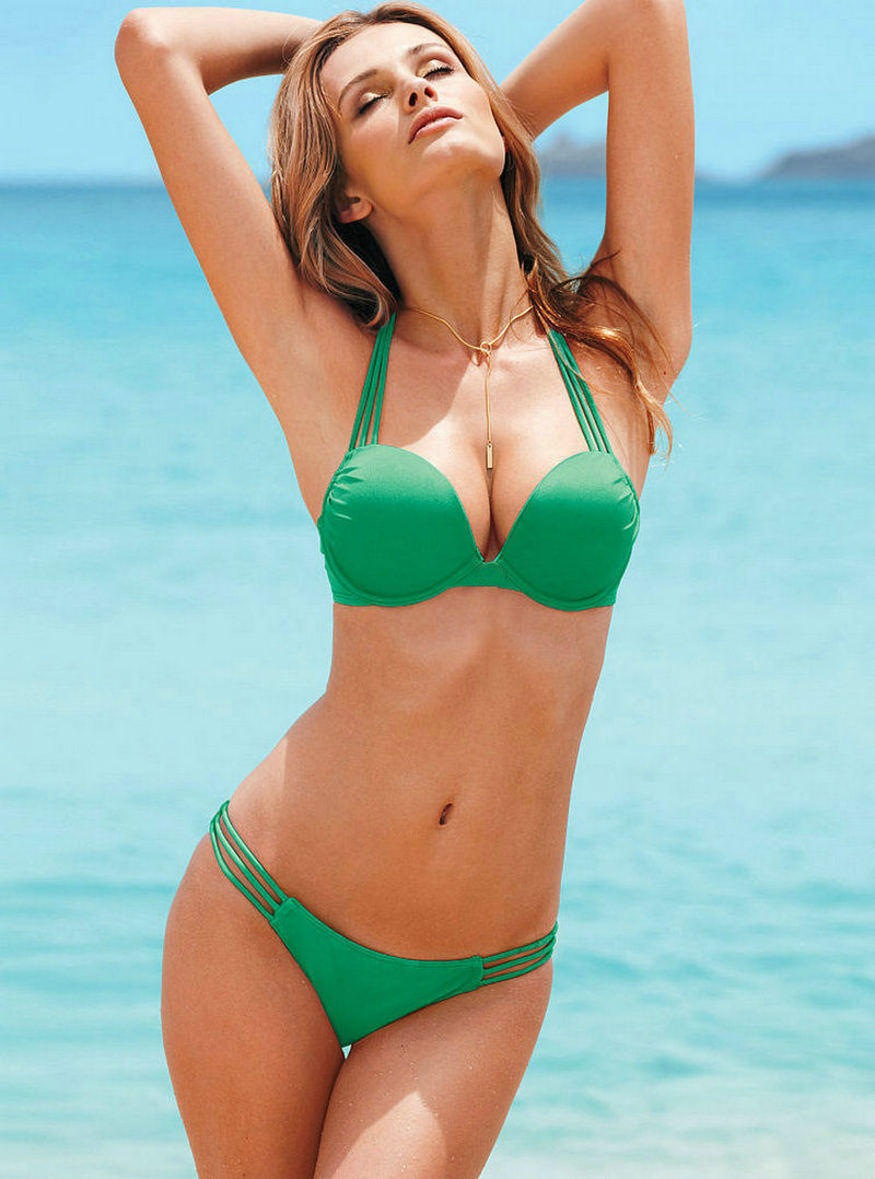 New 17 Stylish Halter sexy Tankini bikinis Push Up Strappy Swimsuit for Women Triangle Bikini Set lady Bathing Suit Swimwear 9