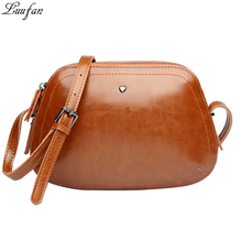 2017 new arrival genuine leather women shoulder bag Small real leather messenger bag female fashion Glossy candy handbag