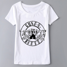 Buy GUNS N ROSES Print 2017 Fashion Tshirt Female Harajuku T shirt Women Tops Summer Short Sleeve O-neck Tumblr T-shirt Punk Rock for $6.80 in AliExpress store