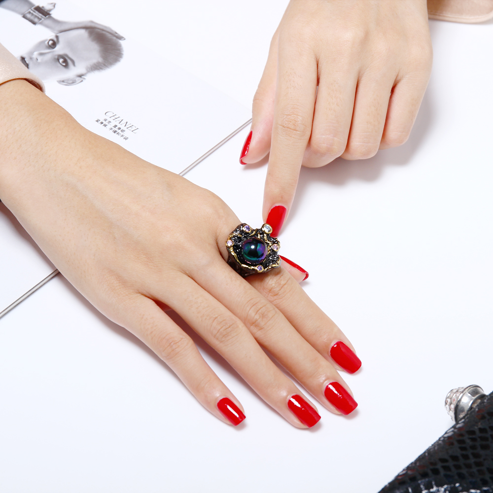 gothic pearl rings (2)