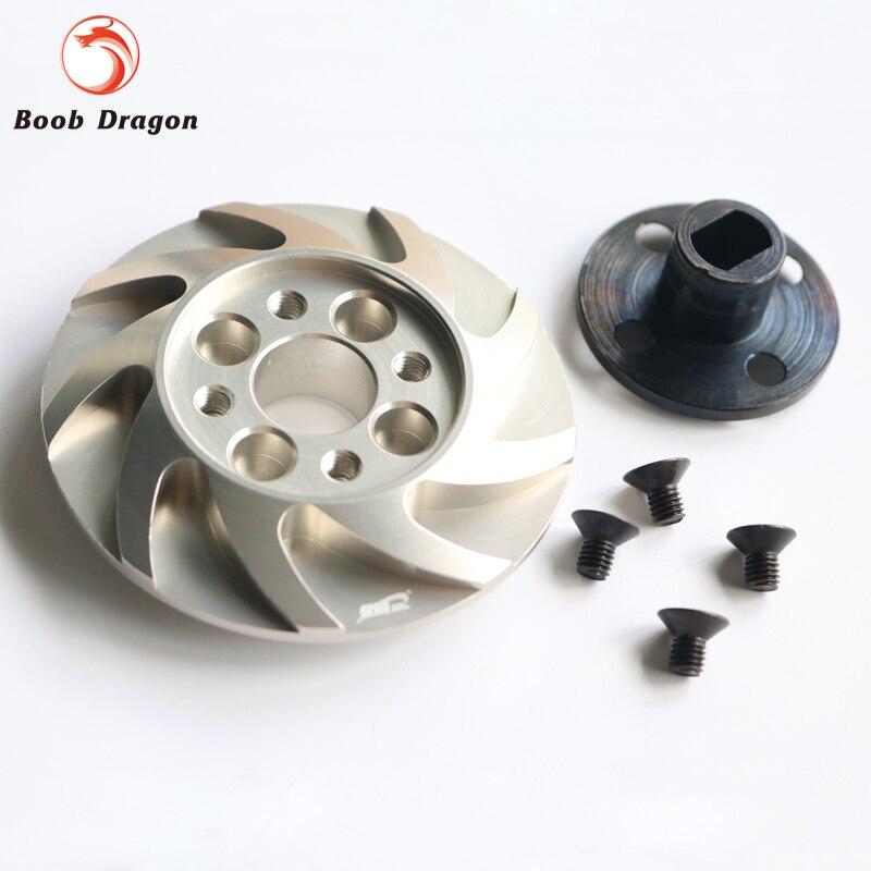 Alloy Spur Gear Adaptor Set for HPI Baja 5B 5T 5SC King Motor Rovan<br>