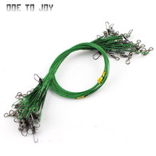 Steel Wire 60pcs Fishing Line for Lead Steel Fishing Wire Fishing Cord Rope Fishing Leader Trace the Lines Spinner Shark expert(China)