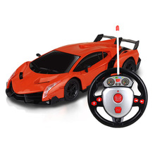Simbable Kidz Red remote control racing car toys for children wirless RC car drift 4 channels 1:24 carro controle remoto
