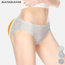 Buy SANQIANG 3pcs-Pack Cotton Sexy Panties Women Underwear Bikini Hipster Briefs Candy Cute Bow Lace Panty Low Waist Women Knickers