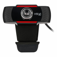 HXSJ Computer Camera, HD Webcam 12MP USB PC Camera with Acoustic Microphone Manual Focus Clip-on Rotatable USB2.0 Network Camera