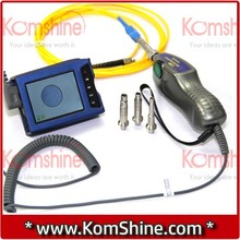 Komshine KIP-500V Fiber Optic Video Inspection Probe & Display,Fiber Optic Connector Microscope/Inspector,with 4 universal tips