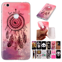 P9Lite 2017 Nostalgic Soft Silicone TPU Phone Case For Huawei P9Lite 2017 Unique Flag Game Dreamcatcher Pattern Back Cover Shell(China)