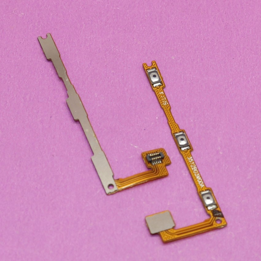 YuXi Power On/Off Key + Volume Up/Down Side Button Flex Cable for Xiaomi Max Mi Max Cell Phone Replacement Repair Parts
