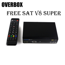 overbox Freesat V8 Super DVB-S2 Satellite Receiver Full HD USB WIFI Cccam set top box Spain French UK Germany free shipping(China)