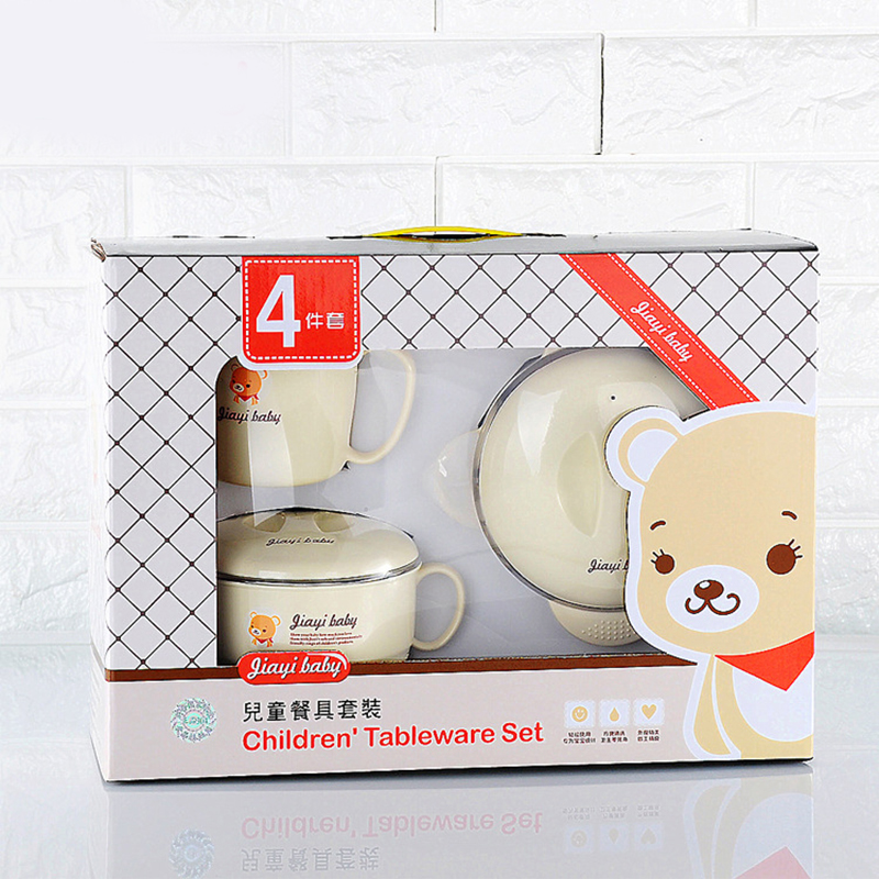 baby food containers set bowl bottle fast baby kids food containers packaging storage airtight food thermos hot containers set<br>
