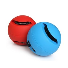 Outdoor Portable Wireless Bluetooth Speaker Car Super Bass Support FM Radio TF Card Round Ball Mini Speaker For Samrtphone PC