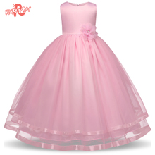RBVH Summer Flower Girl Wedding Dresses Princess Dress Brand Children's Clothing Girls Party Dresses For Kids Clothes 10 Years(China)