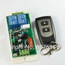 High Power AC220V 10A 2 CH Wireless Remote Control Radio Controller Switch Switch 220V 2CH Receiver and Transmitter