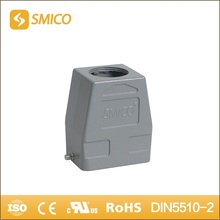 SMICO H6B-TKH-2B-M25 heavy duty connector Al-alloy Die-cast Material hood top entry with UL certificate(China)