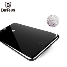 Baseus Ultrathin Slim Silicone Cover Case For iPhone 7 Plus Transparent Soft TPU Phone Bag Coque For iPhone 7 With Dust Plug