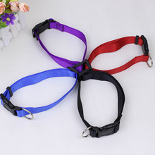 High Quality Plain Nylon Collar Dog Traction Collar Pet Product Size S-XL Comfortable feel Chihuahua Teddy Pet product Plain