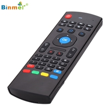 Binmer Hot Selling 2.4G Remote Control Air Mouse Wireless Keyboard For XBMC Android Mini PC TV Box Gift 1pcs Nov 10