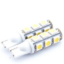 High Quality White T10 13 SMD 5050 13LED 13Smd 194 168 192 Auto Car Side Light Bulb 194 168 W5W LED Wedge Lamp 12V