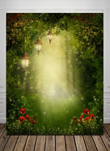 HUAYI  fantasy wedding Background Computer Printed Photography Backdrop BG218